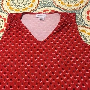 Cool Sleeveless Top in size Large